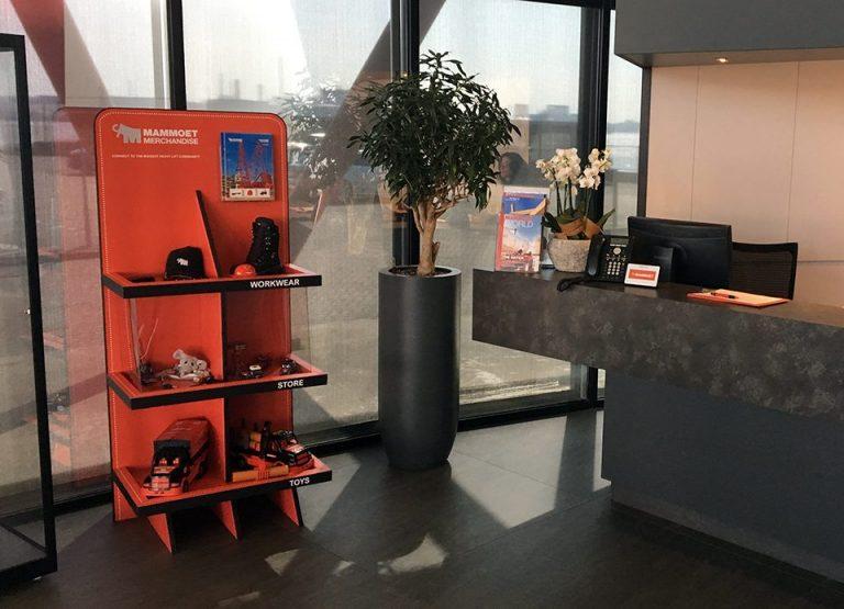 Reboard display voor presentatie producten
