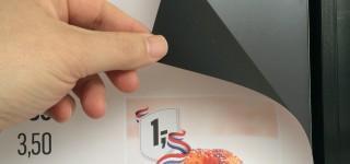 Metal Paper magneetsticker - McDonalds