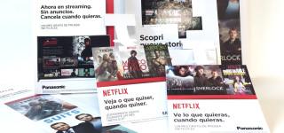 POS-materiaal Netflix