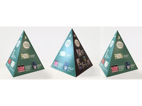 piramide display