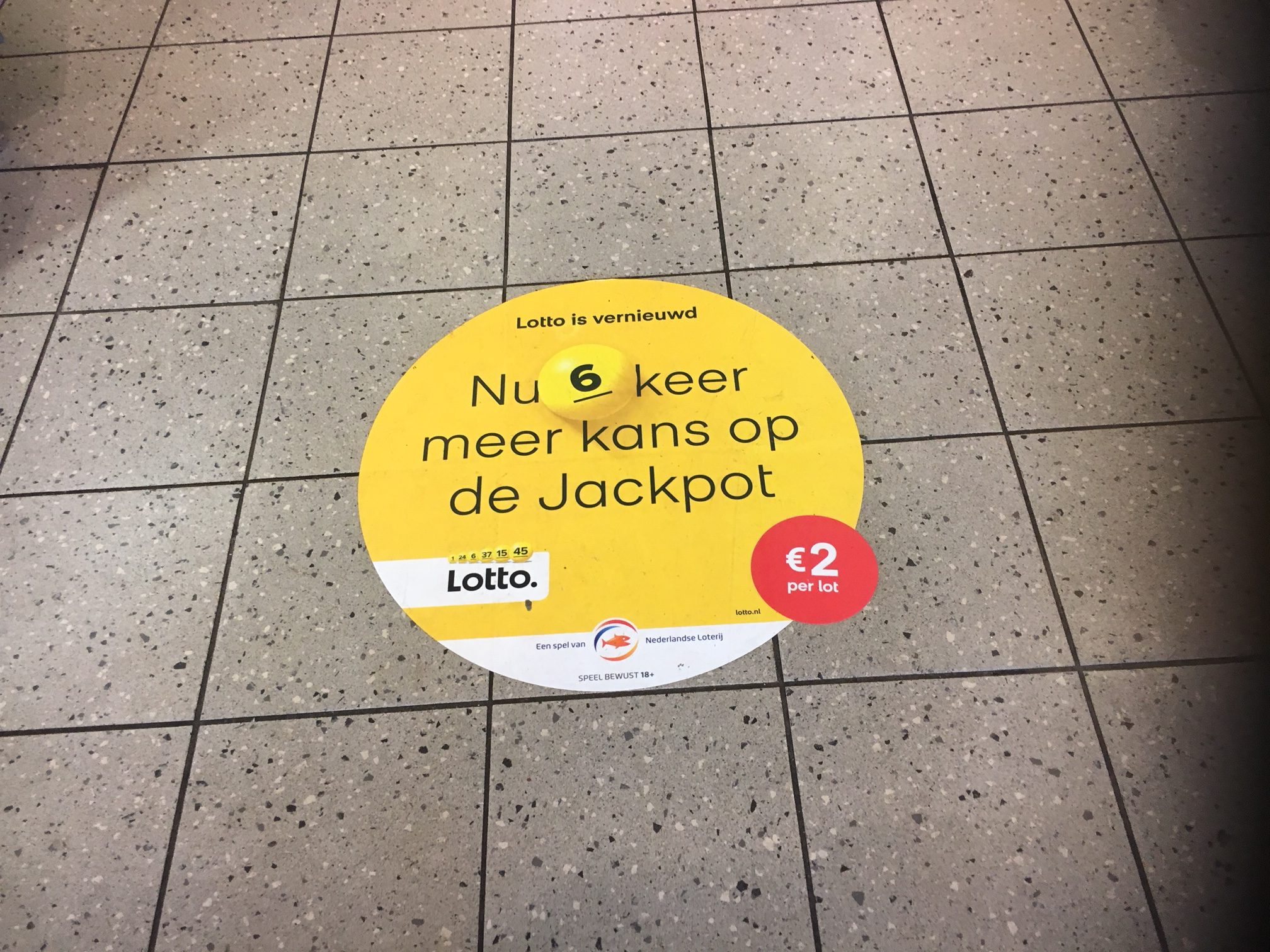 vloersticker_Lotto