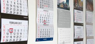 zakelijke wandkalenders
